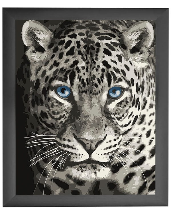 Paint by numbers Leopard