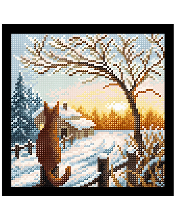 Diamond Painting Vinter