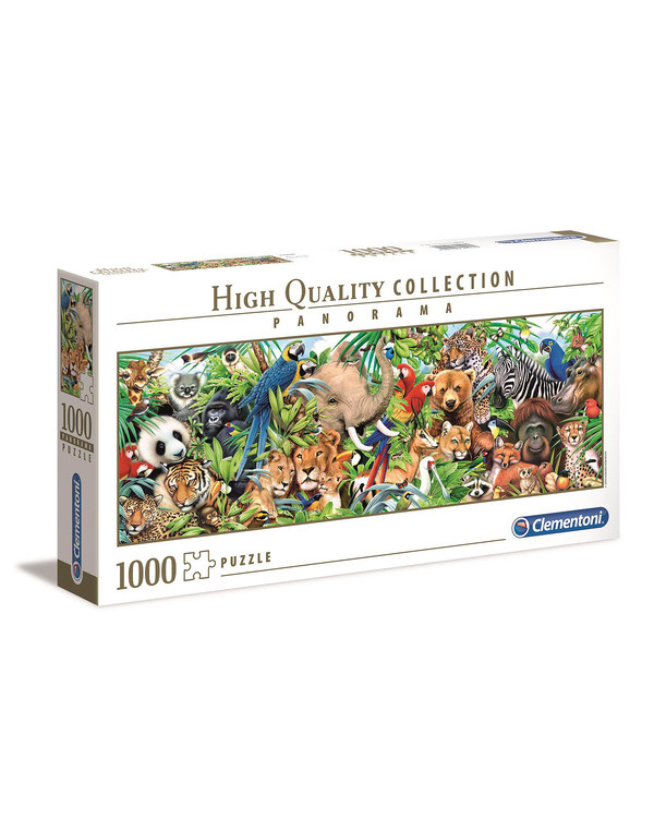 Puzzle Wilde Tiere 1000 Teile