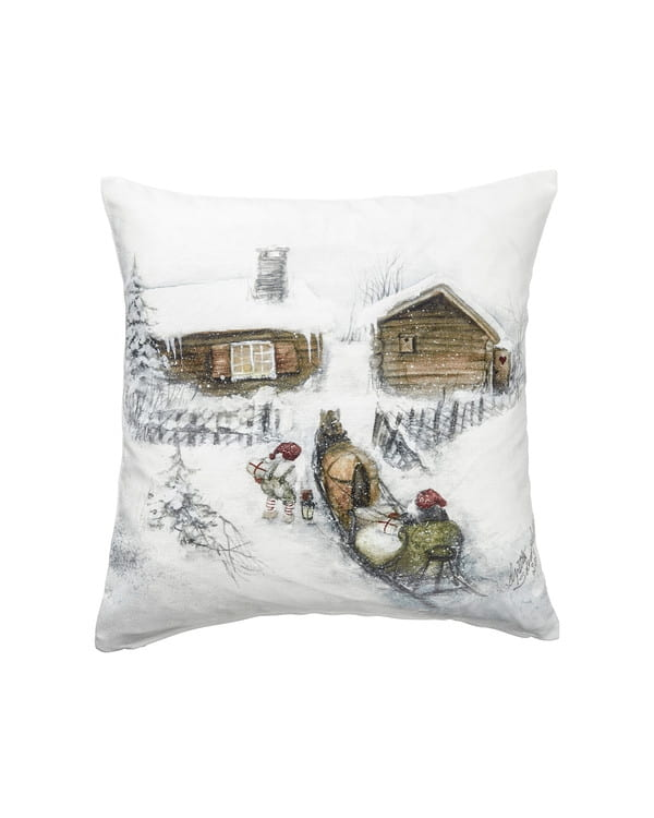 Kuddfodral Jul Huset 1-pack